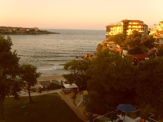 Hotel Selena: view from room