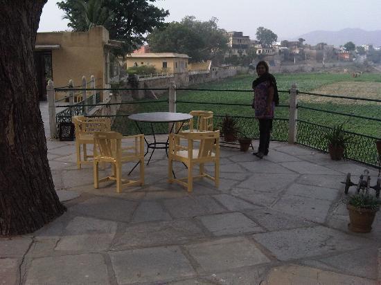 Phool Mahal Palace varandah view