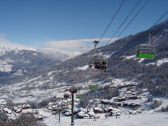 Valmorel, Frankrike: un domaine skiable super sympa