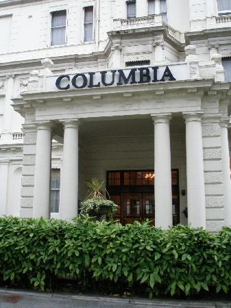 Columbia Hotel Entrance Exterior Picture Of The Columbia London