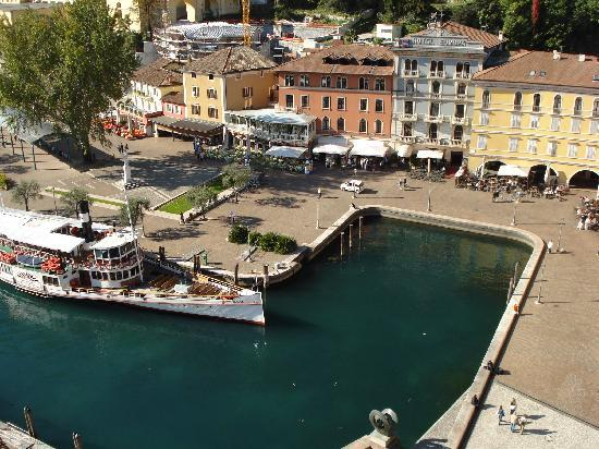 Hotel Portici Romantik & Wellness: Piazza III Novembre from top of Tower