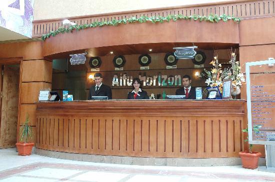 front office desk - picture of aifu resort el-montazah, alexandria