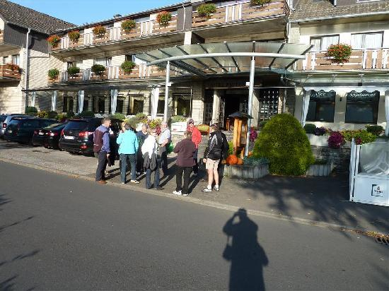 Simmerath, Jerman: bijeenkomst voor het hotel
