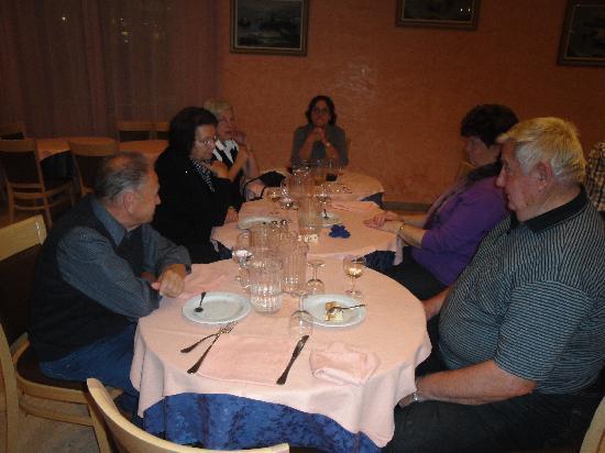 Hotel Adria : Abendessen