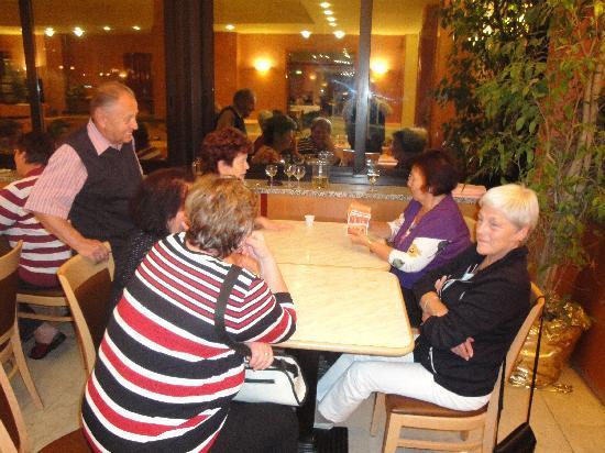 Hotel Adria : nach dem Abendessen