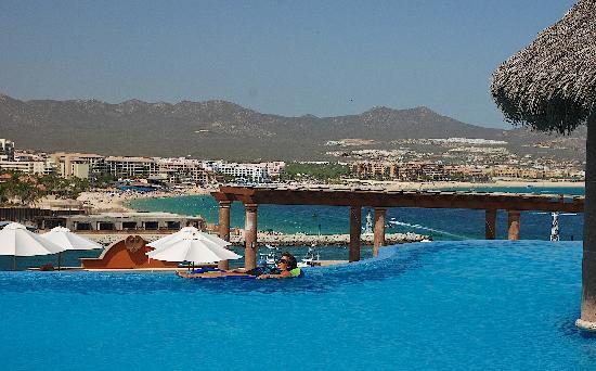 Playa Grande Resort: View of Sea of Cortez from Ridge pool
