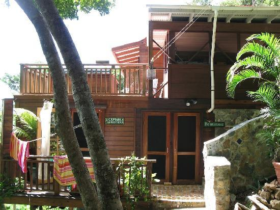 Treetops: Side shot of the room entrances