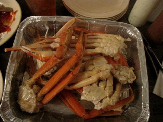Lighthouse Restaurant Snow Crab Legs In Pan
