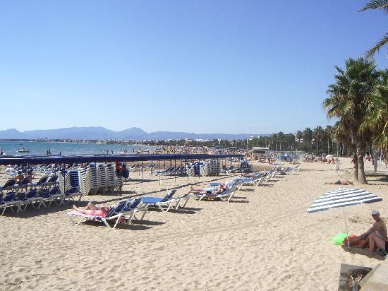 Salou Spain The Beach