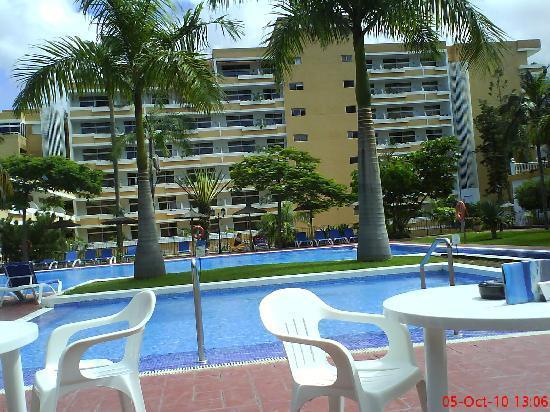 En la terraza photo de hotasa puerto resort canarife - Hotel canarife palace puerto de la cruz ...