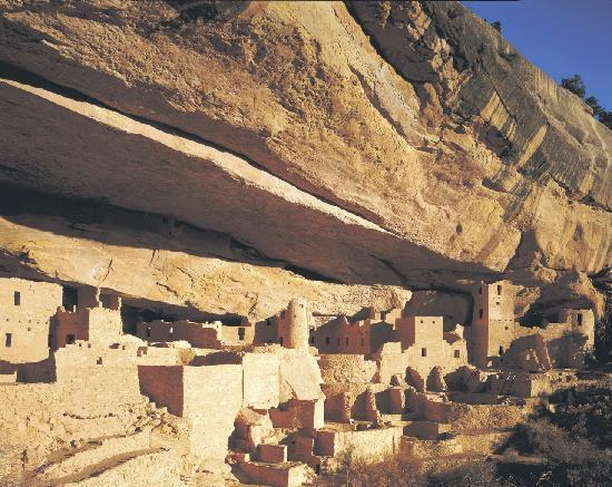 Национальный парк Меса-Верде, Колорадо: Cliff Palace, Mesa Verde Country
