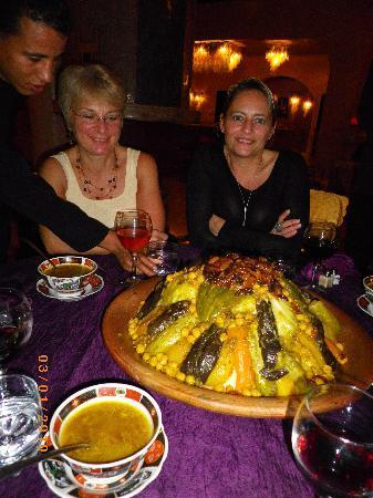 Villa Riadana : le couscous