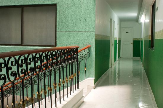 Hotel Florida: Pasillo