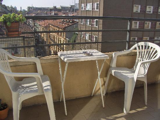 Hotel Kennedy: terrace