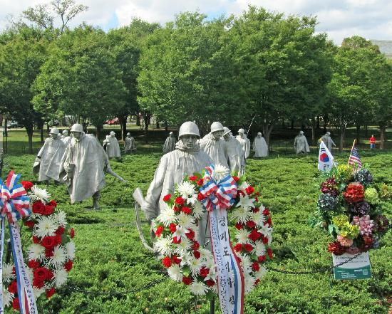 Washington DC, DC: Korean War Memorial