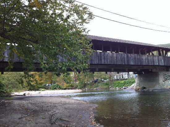 """The Waitsfield Inn : """"Big Eddy"""" Covered Bridge in Waitsfield."""