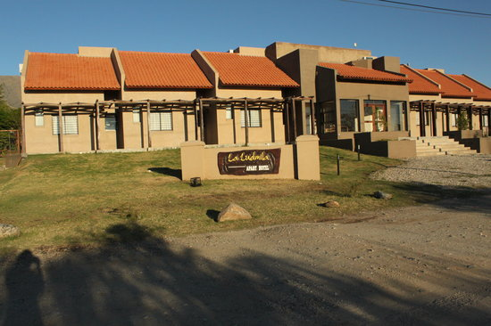 La Ludmila Apart Hotel: La entrada