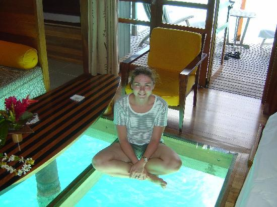 Inside Of On Water Bungalow Picture Of Le Meridien Bora