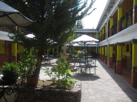 """Margarita's Plaza Mexicana: """"garden view"""""""