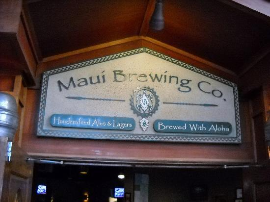 Maui Brewing Co. Brewpub: good casual deal