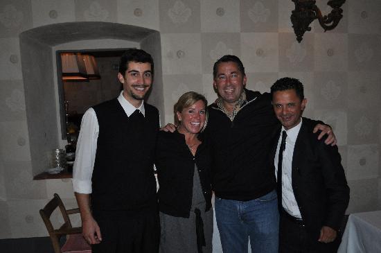 Villa Bordoni: Hugo and Nico...thanks!