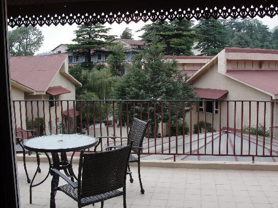 Club Mahindra Mussoorie: Balcony