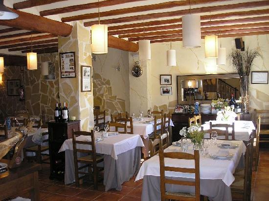 Pinoso, Spain: Comedor principal