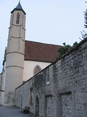 Holy Ghost Church: wall and belltower