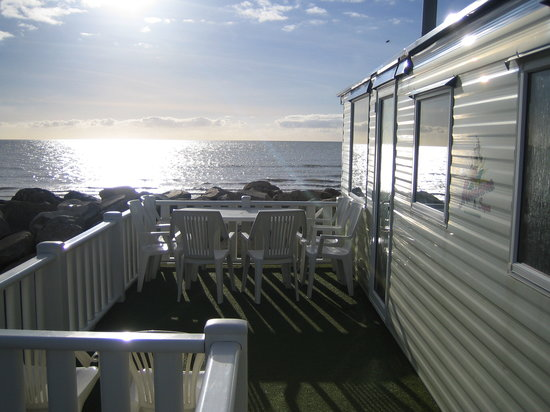 Talybont, UK: Sea View Caravan