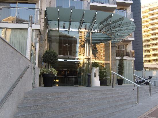 Sandos Monaco Beach Hotel & Spa: l'entrée....