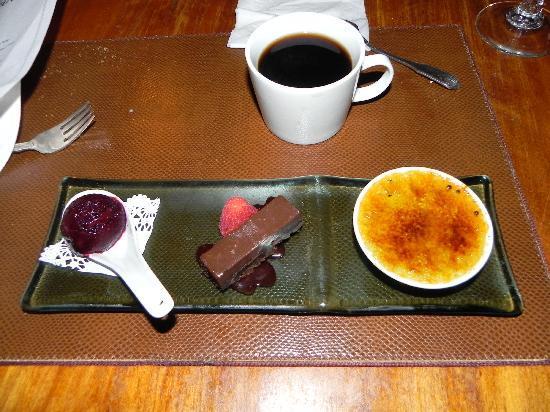 Chillingsworth: Trio of desserts
