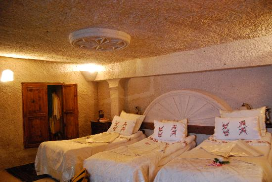 Gamirasu Cave Hotel: Plush family rooms