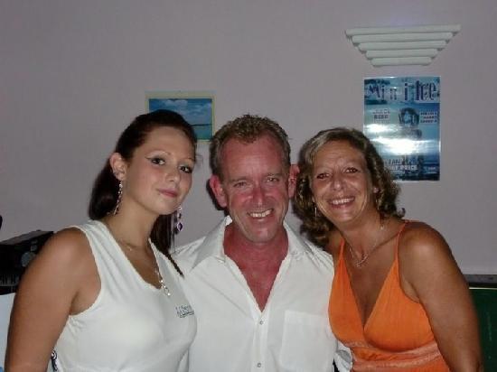Miami Ice Bar: Alix, Alan and Sandra