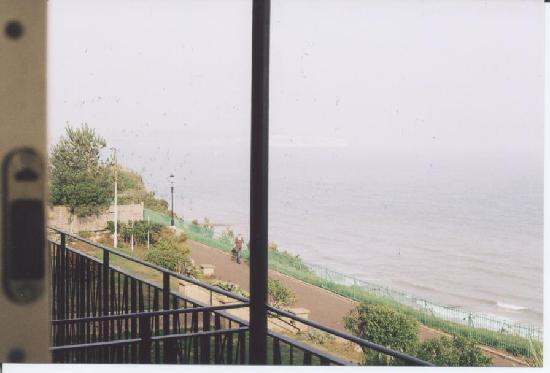 Ocean View Hotel: view to left from 118