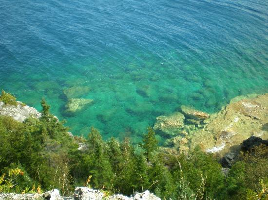 Bruce Peninsula National Park: View form the cliffs