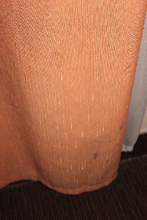 Motel 168 (Shanghai Aomen Road): Dirt on Curtain