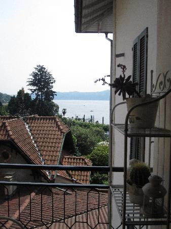 Il Sole Di Ranco: VERY partial view from room terrace..