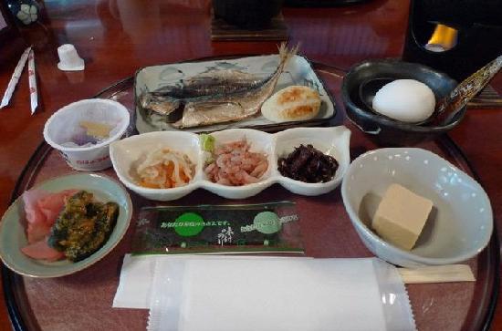 Tonosawa Ichinoyu Honkan: breakfast
