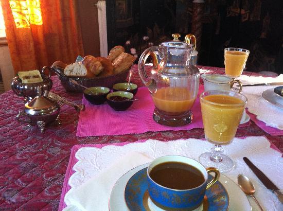 La Liniere: private breakfast