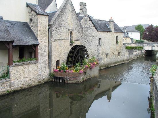 Bayeux, França: Baueux canal
