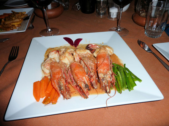 La Marina: King Prawns to die for!