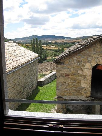 Eparoz, Spagna: The view from our room with tranquil Navarran landscape