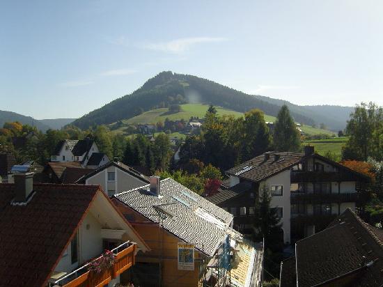 Hotel Rose: Blick vom Hotel zum Stöckerkopf