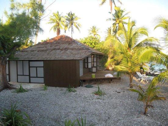 Tevahine Dream: les bungalows
