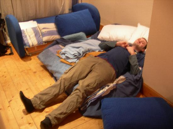 """Victorian House: The 4ft long """"bed"""""""