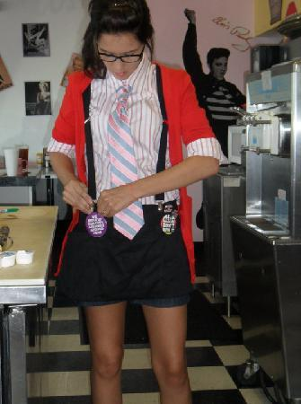 The 50's Diner: the Servers ROCK!
