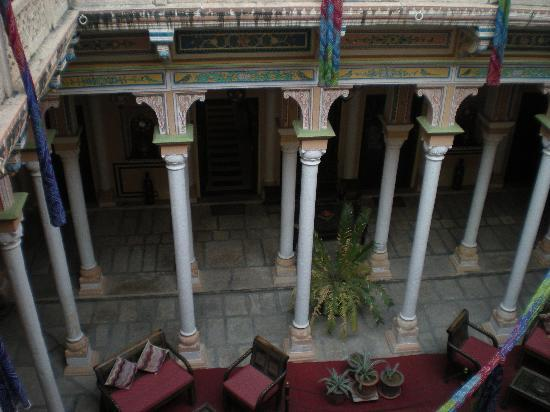 The Grand Haveli & Resort : cour intérieure
