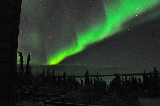 Aurora Borealis Lodge: Auroras on 3rd night (1)