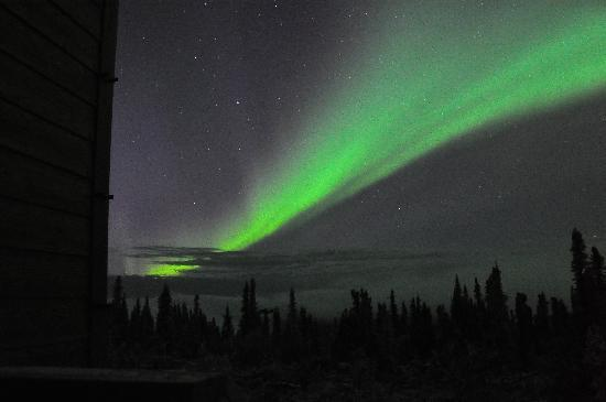 Aurora Borealis Lodge: Auroras on 3rd night (2)
