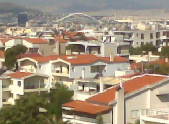 Hotel Akraion: Blick von der Hotelterrasse